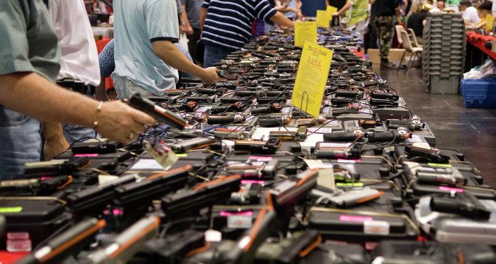 Venta de armas en Estados Unidos (Archivo)