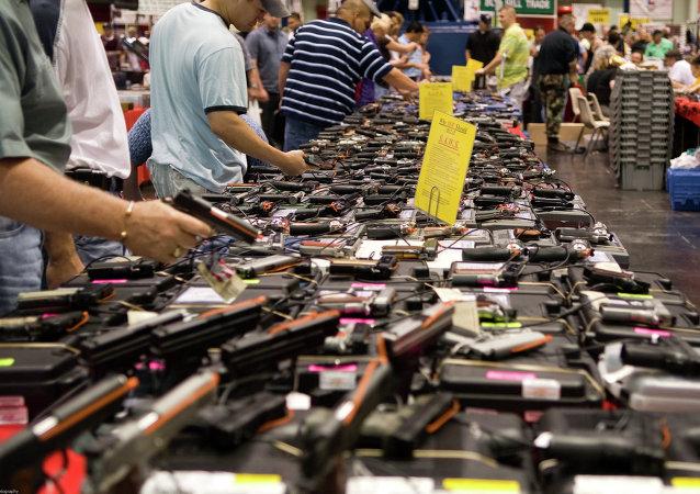 La venta de armas en Estados Unidos