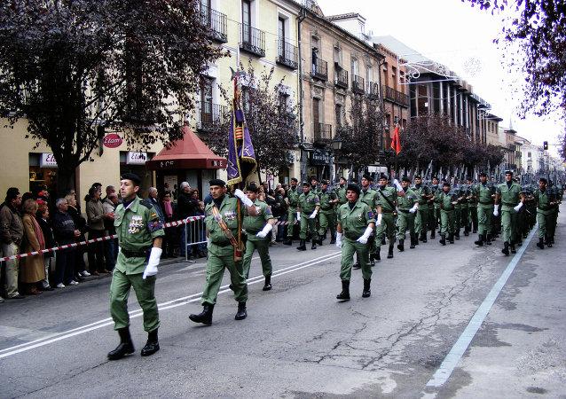 Brigada de Infantería Ligera Paracaidista en España