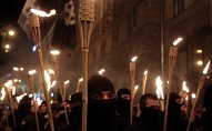 Neonazis en Ucrania (archivo)