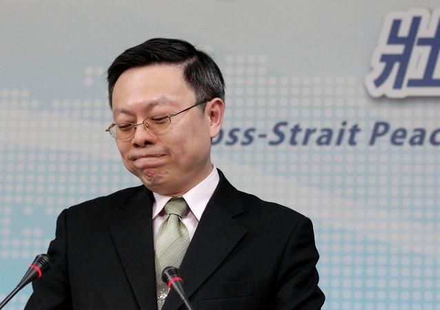 Wang Yu-chi, ministro de Taiwán de Asuntos con China