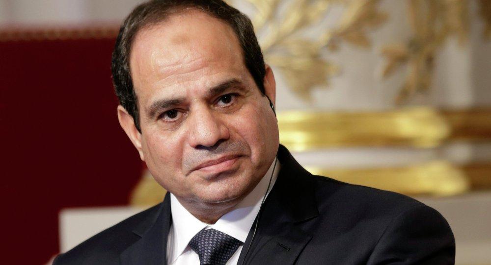 Abdelfatá al Sisi, presidente de Egipto