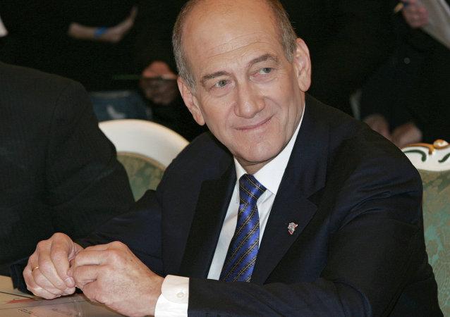 Ehud Olmert, ex primer ministro de Israel