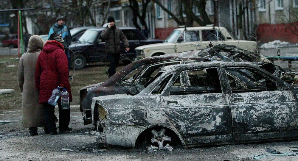 Mariúpol después de bombardeos