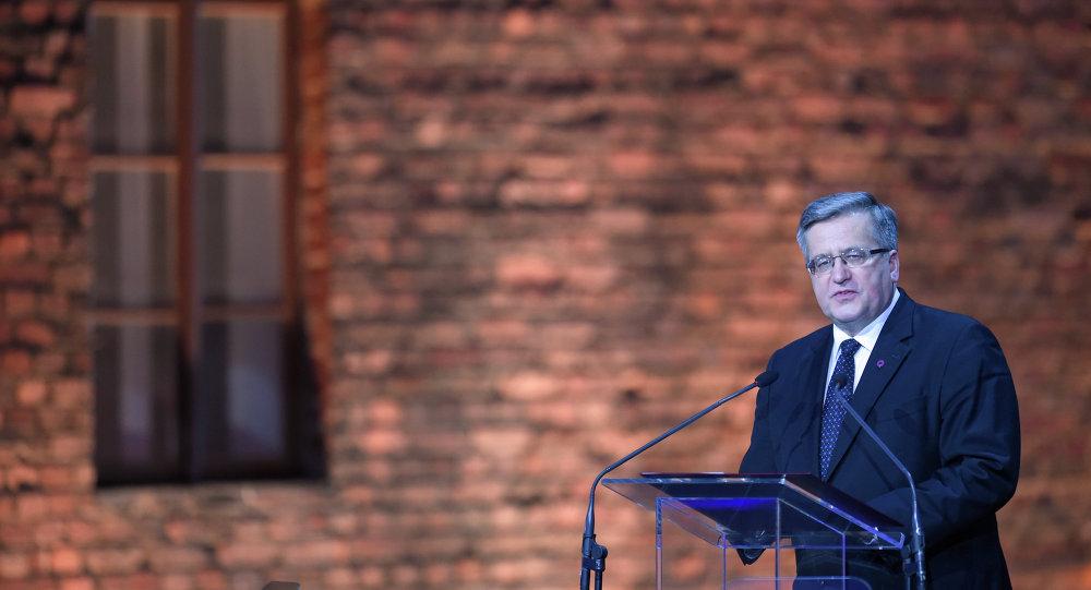 Bronislaw Komorowski, presidente de Polonia
