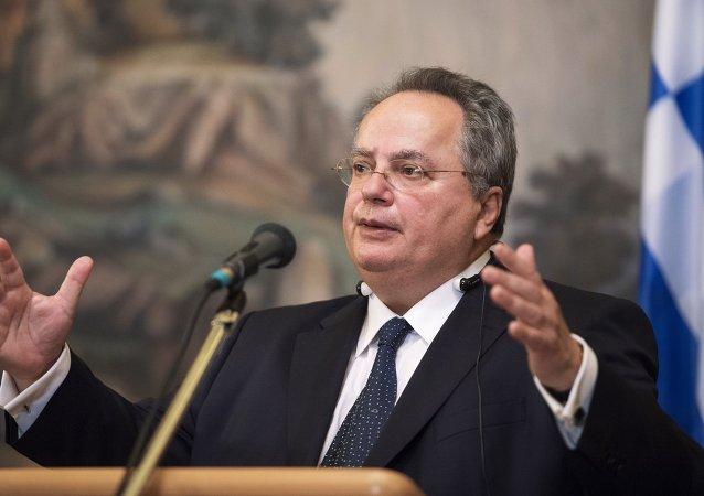Nikolaos Kotzias, ministro de Asuntos Exteriores de Grecia