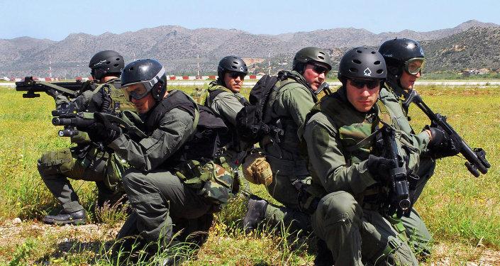 Militares griegos