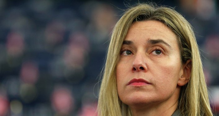 Federica Mogherini, alta representante de la Unión Europea para Asuntos Exteriores (archivo)