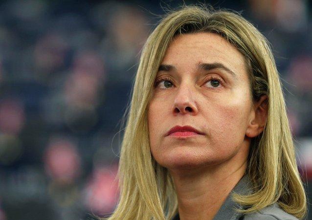Federica Mogherini, alta representante de la UE para Asuntos Exteriores y Política de Seguridad (archivo)