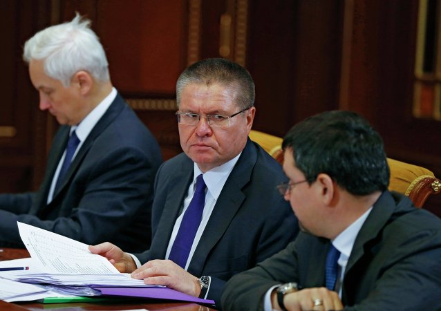 Alexéi Uliukáev, ministro de Desarrollo Económico de Rusia