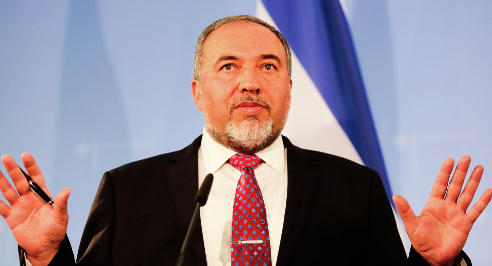 El líder del partido Israel Beitenu, Avigdor Lieberman