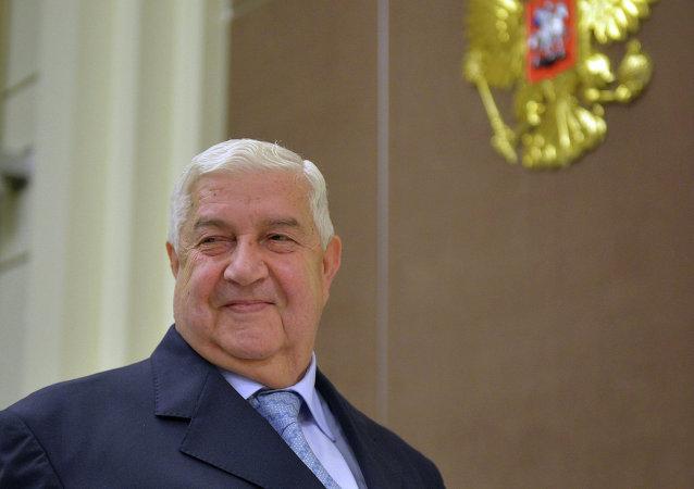 Walid Muallem, ministro de Asuntos Exteriores de Siria