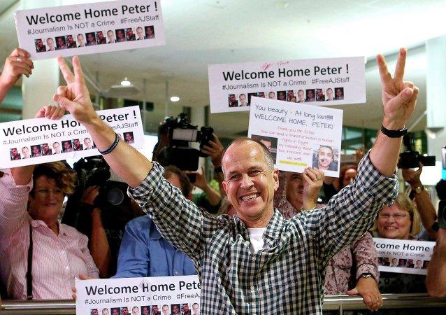 Peter Greste, periodista australiano