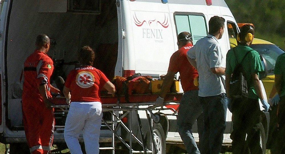 Brasil heridos (imagen referencial)