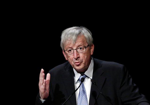 Jean-Claude Juncker, jefe de la Comisión Europea
