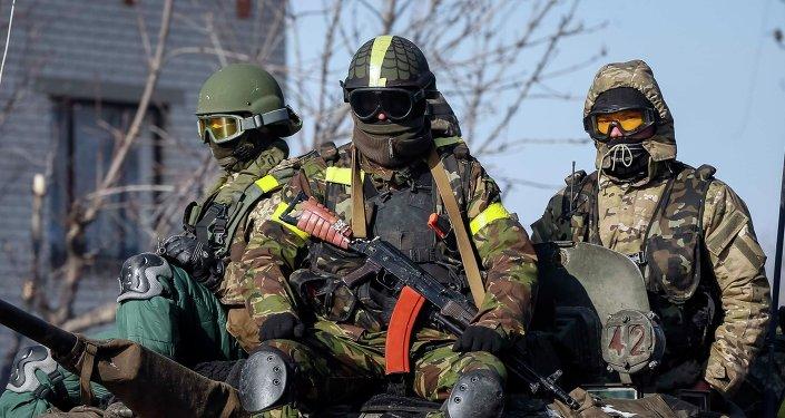 Militares ucranianos