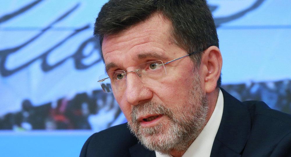 Slavenko Terzic, embajador deSerbia en la Federación Rusa