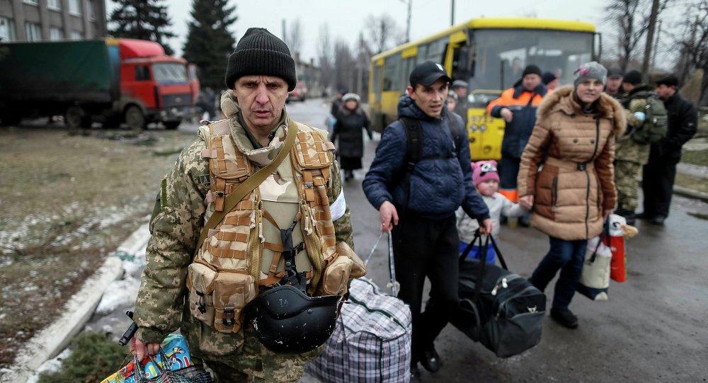 Refugiados ucranianos