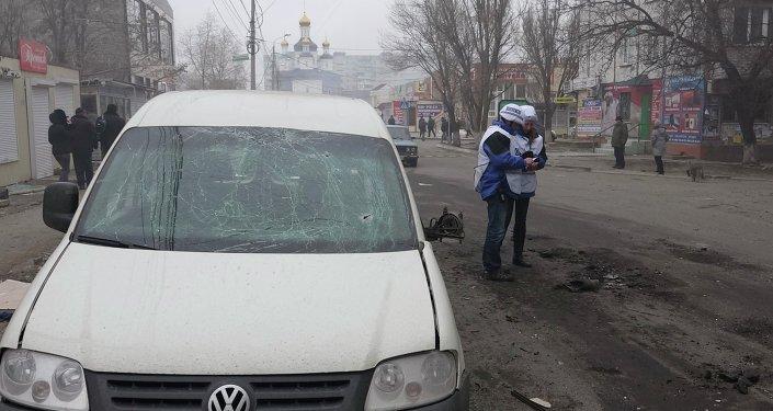 Los observadores de la OSCE piden acceso a toda la línea de contacto en Donbás