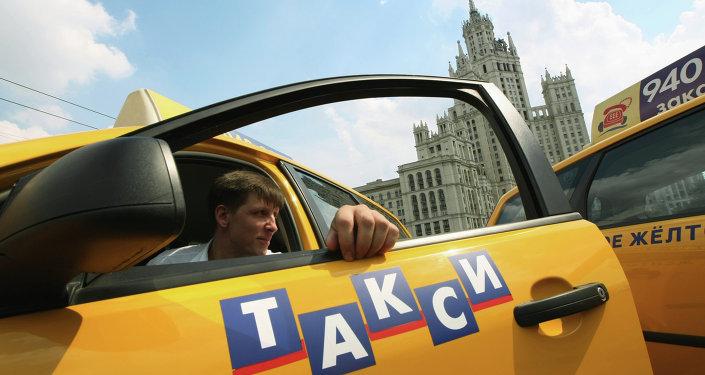 Taxi en Moscú (archivo)