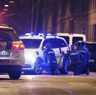 Policías en Copenhague