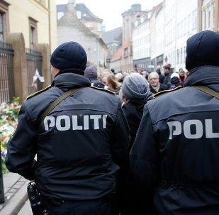 Policía en Copenhague