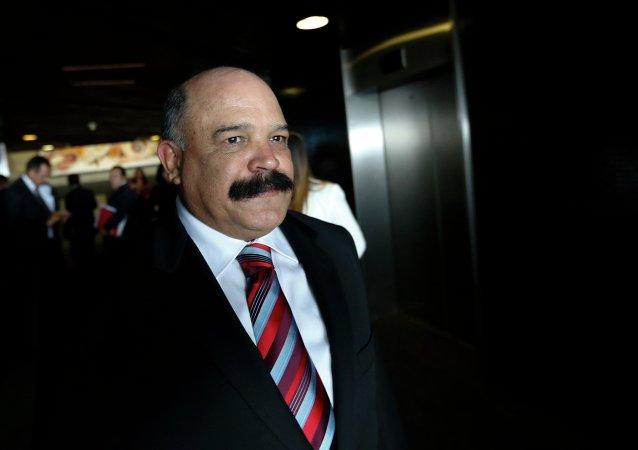 Nelson Merentes, presidente del Banco Central de Venezuela