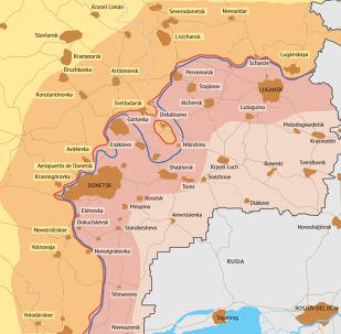 Tregua en Donbás