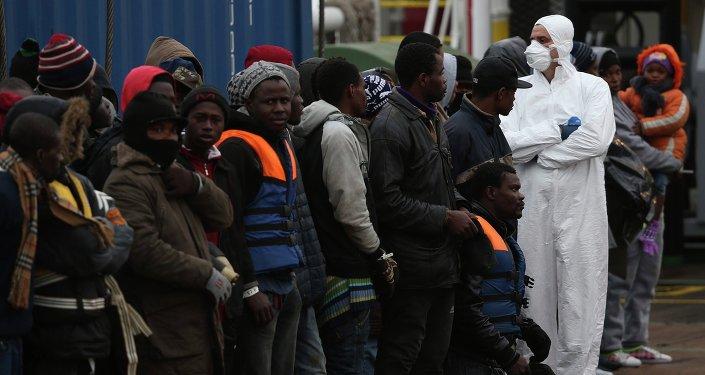Inmigrantes llegan a la UE (archivo)