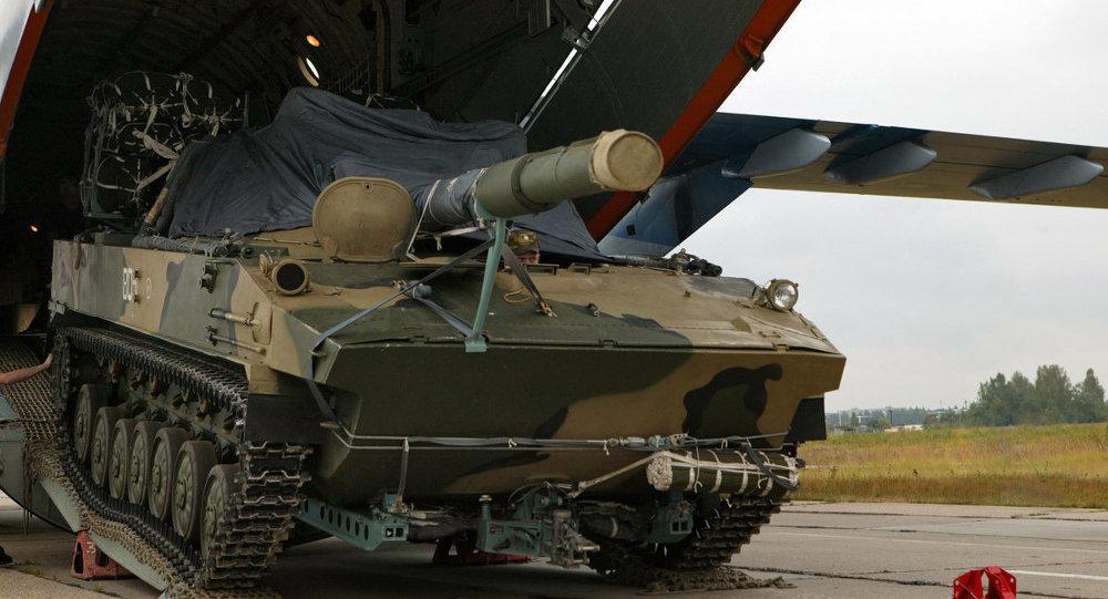 Carro de combate ruso en Rostov (Archivo)