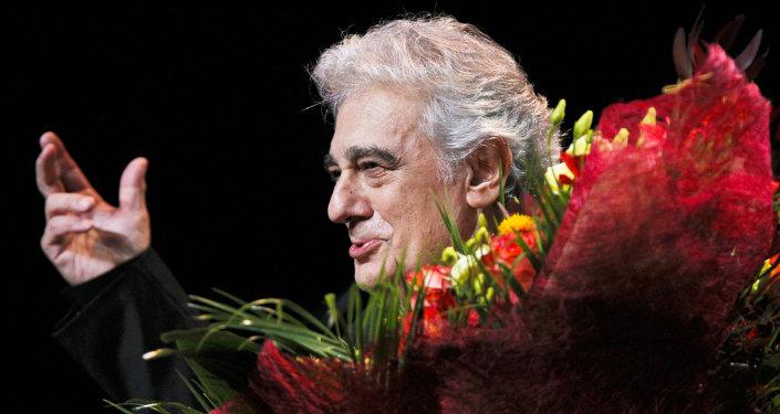 El incomparable tenor Plácido Domingo