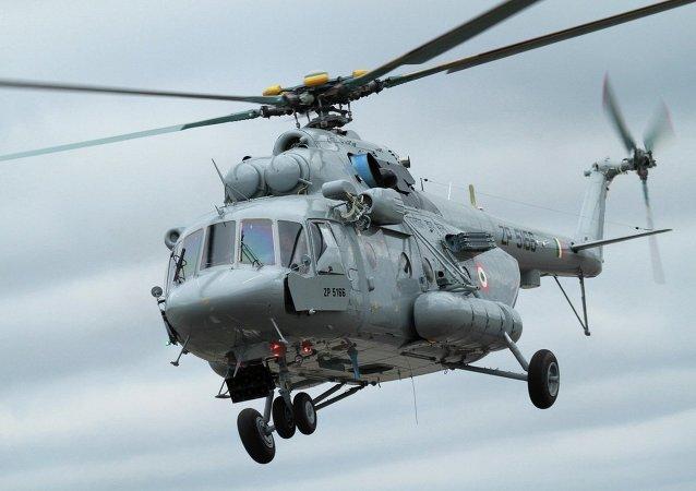 Helicóptero militar de transporte Mi-17V-5