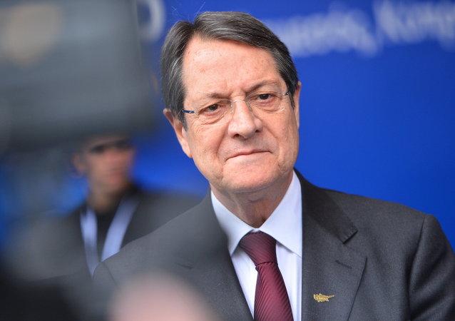 Nikos Anastasiadis, presidente de la República de Chipre