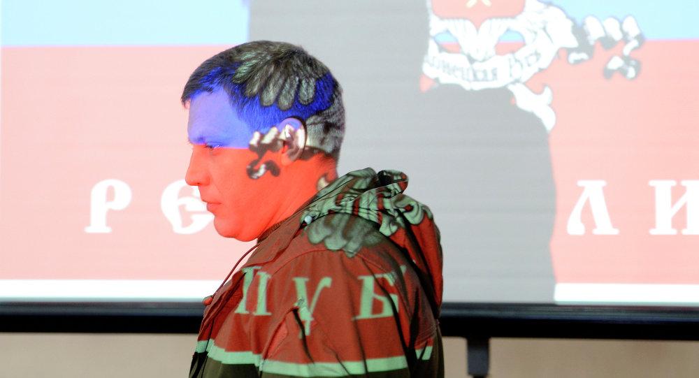 Alexándr Zajárchenko, jefe de la autoproclamada República Popular de Donetsk