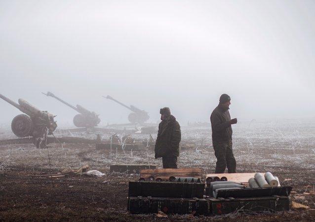 La OSCE exige que las milicias cesen el fuego en Debáltsevo