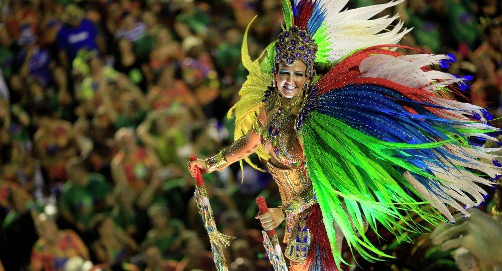 Carnaval en Río de Janeiro, Brasil (archivo)