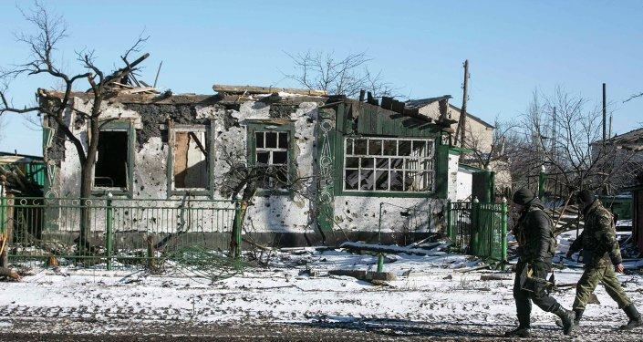 Situacion en el este de Ucrania
