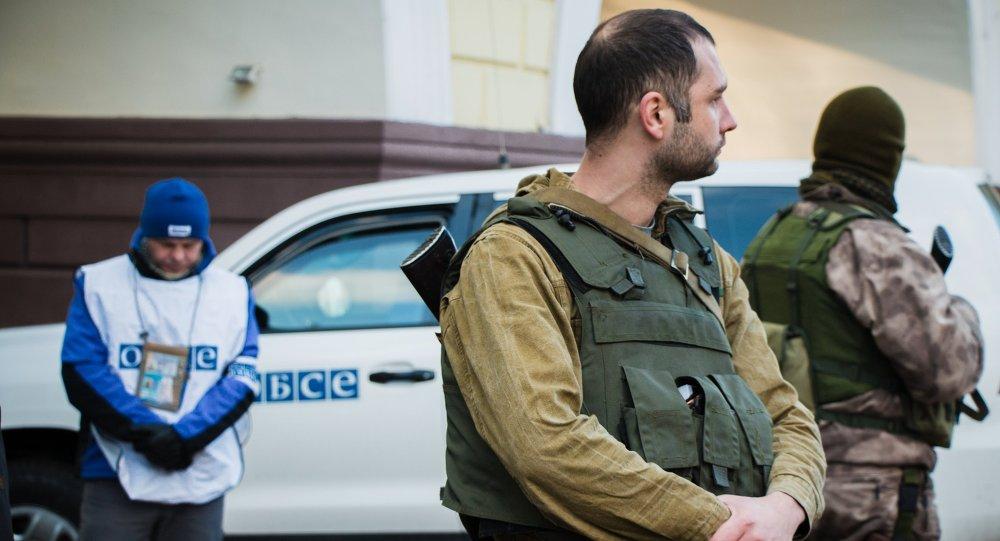 Milicias dipuestas a que la OSCE controle permanentemente diez áreas de Donbás