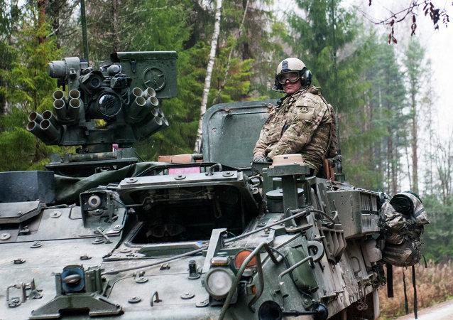 Militares de la OTAN en Estonia (archivo)