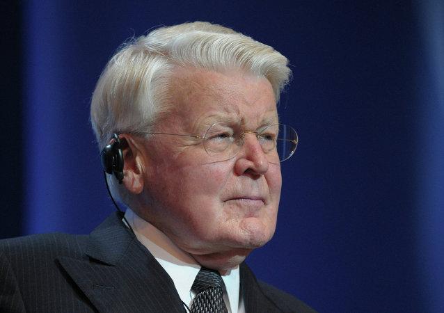 Olafur Ragnar Grimsson, presidente de Islandia