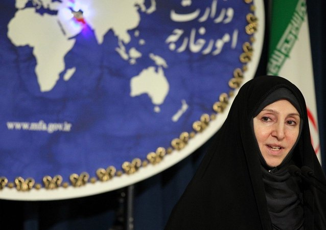 Marziyeh Afkham, Cancillería iraní