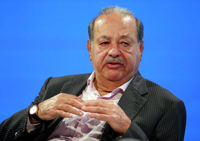 Carlos Slim, magnate mexicano (archivo)