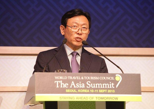 Shin Dong-bin, presidente de Lotte Group
