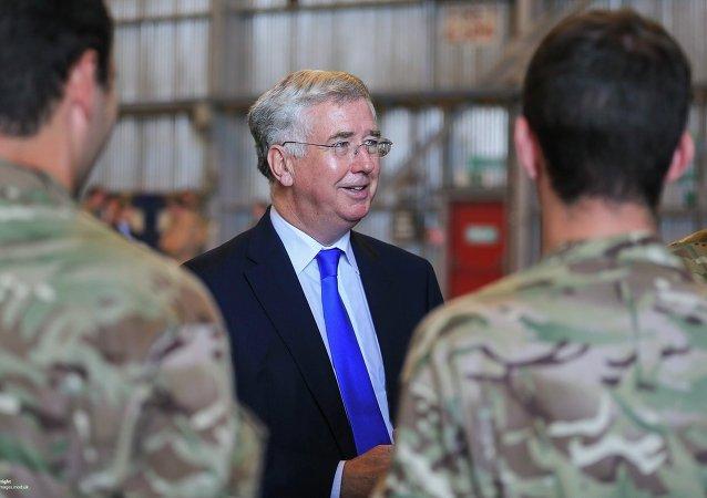 Michael Fallon, ministro de Defensa de Reino Unido