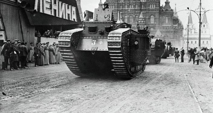Tropas de tanques de Rusia. Historia