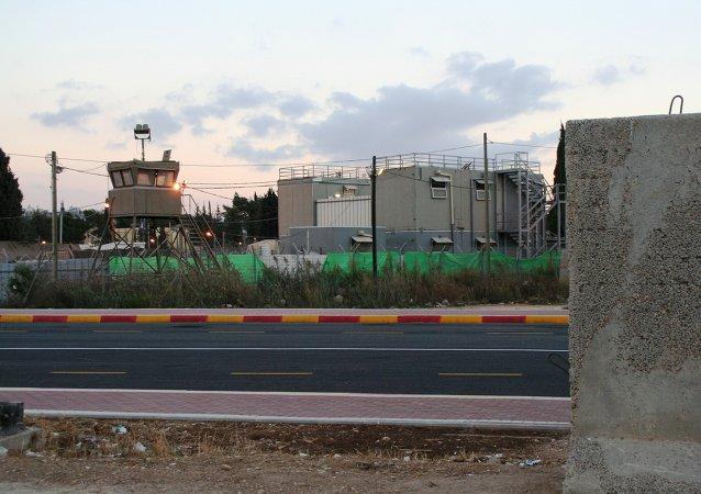 Prisión de Huwarra en Nablus