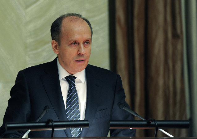 Alexandr Bórtnikov, director del FSB