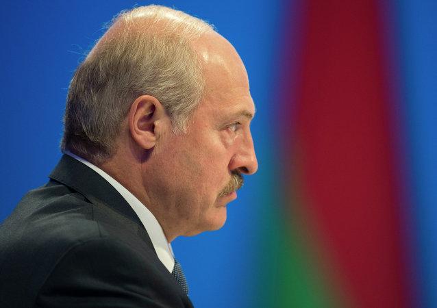 Alexandr Lukashenko, presidente de Bielorrusia