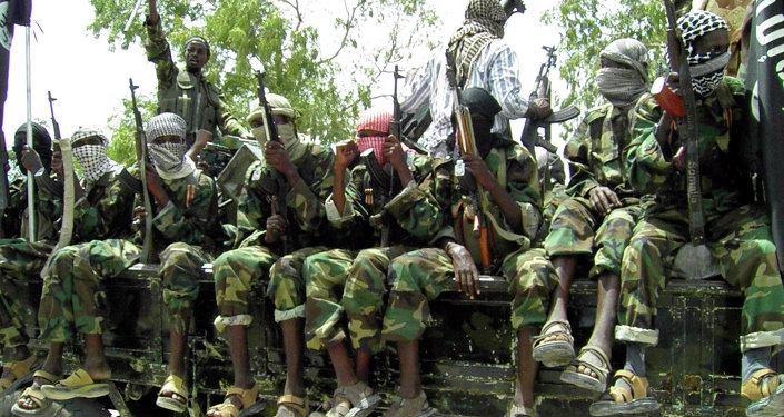 Combatientes del grupo Al Shabab