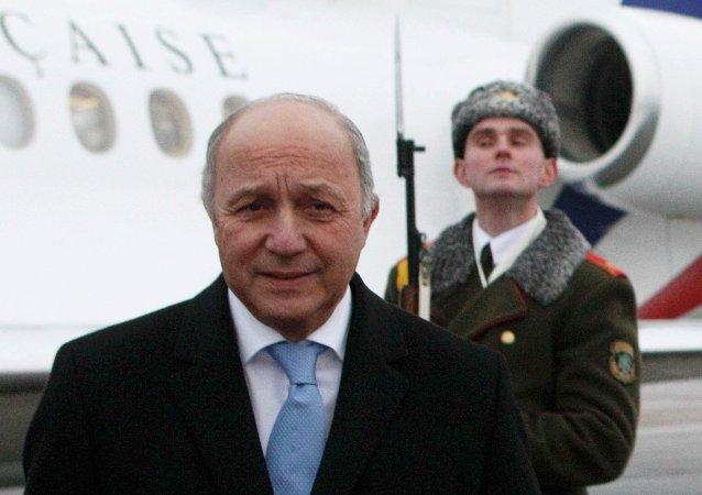 Laurent Fabius, ministro de Exteriores de Francia